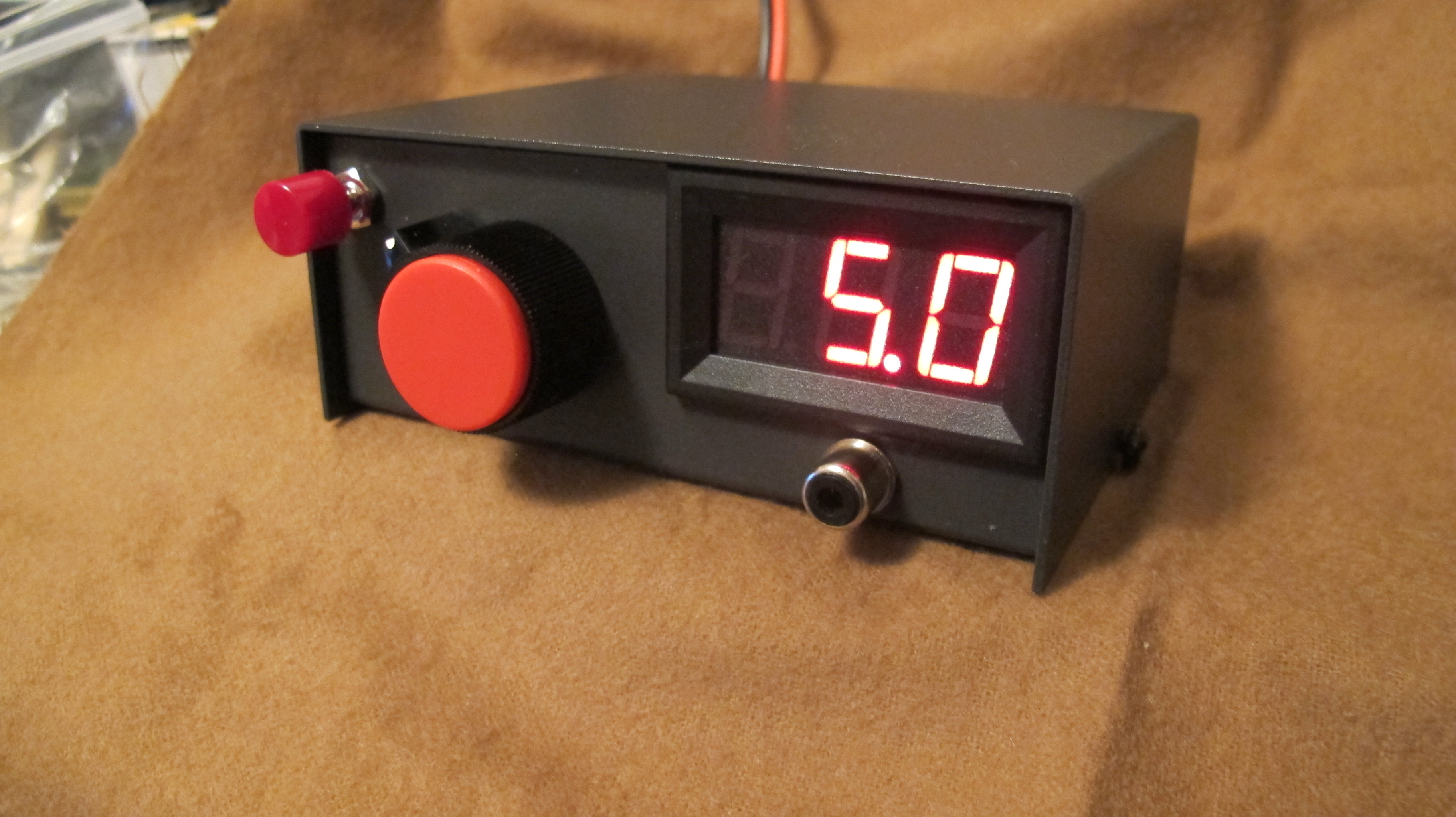 0-30V Mini Bench Power Supply