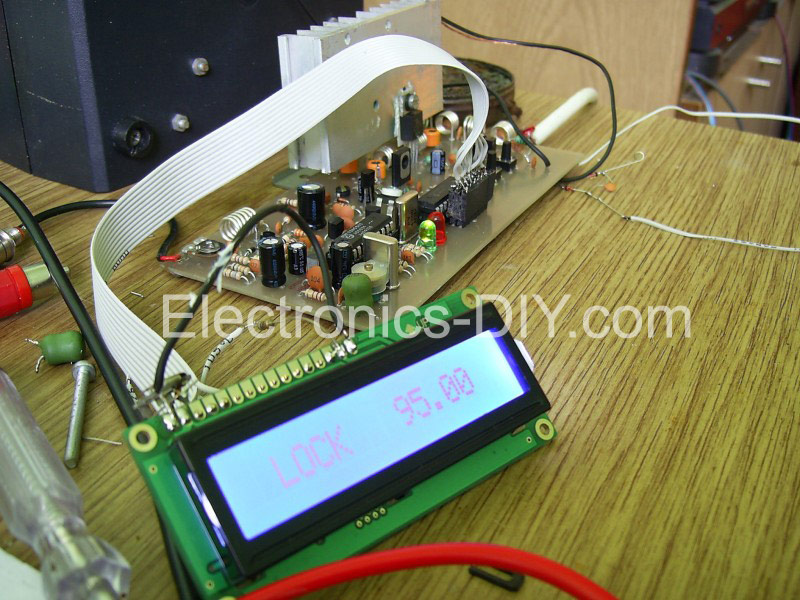 8W PLL Stereo Transmitter with LCD