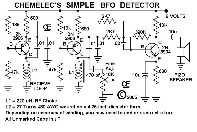металлоискатель на микросхеме схемотехника - Проверенные схемы.