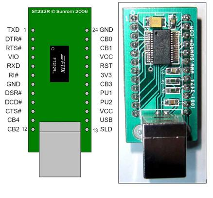 FT232 USB Interface Adapter