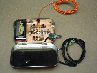 ALTOIDS Tin Part 15 Version FM Transmitter