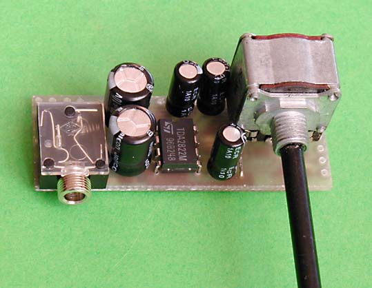 μAmp Miniature Audio Amplifier