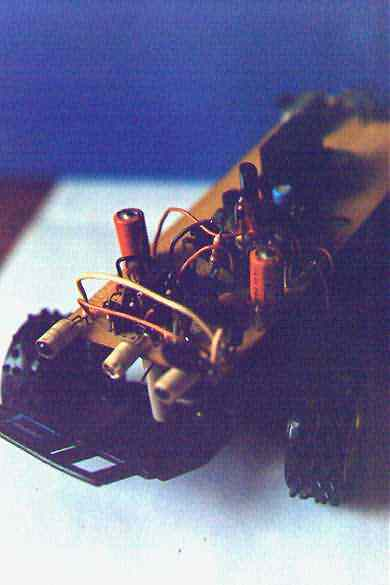 Infra Red Vision System for a Toy Cars