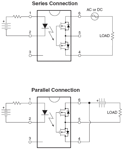 using hsr312    hsr412 solid state relays
