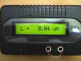 LC Meter com PIC16F628A 40nH