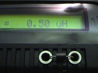 LC Meter com PIC16F628A 500nH