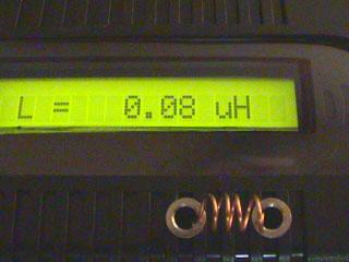 LC Meter com PIC16F628A 80nH_2
