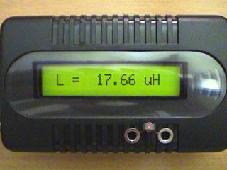 LC Meter com PIC16F628A Toroid1