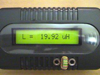 LC Meter com PIC16F628A Toroid2