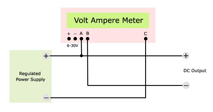 Wiring Diagram For Voltmeter : Voltmeter ammeter