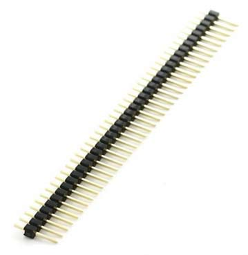 40 PIN Break Away Male Header Connector - Straight