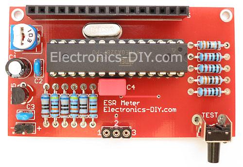 Diy Esr Meter : Electronics diy premium quality electronic kits lc