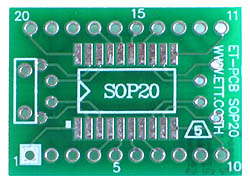SOIC 20 Adapter