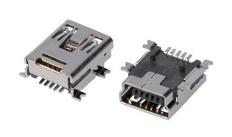 Micro USB Female Connector Type B - SMD