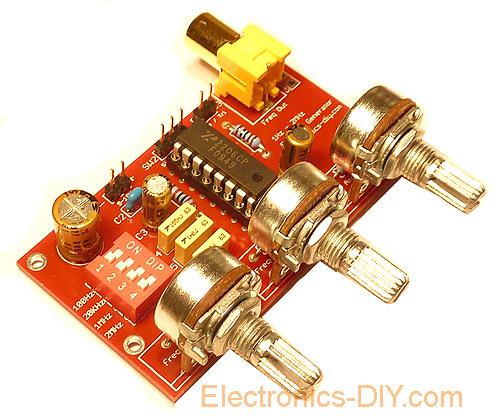 Arduino Dds signal Generator tv
